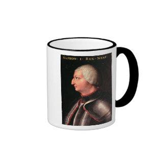 Alfonso V the 'Magnanimous', King of Aragon Coffee Mugs