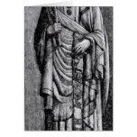 "Alfonso X ""el sabio"", rey del Castile Tarjeta"