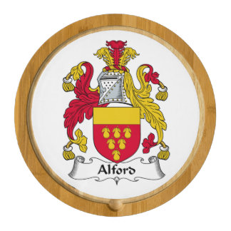Alford Family Crest Cheese Board