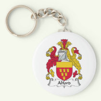 Alford Family Crest Keychain