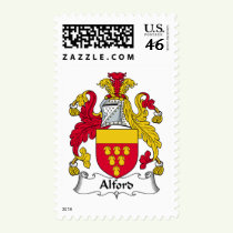 Alford Family Crest Stamps