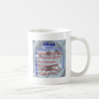 Alfred Acrostic Coffee Mug