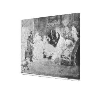 Alfred de Musset  Eugene Delacroix Gallery Wrap Canvas
