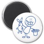 Alfred Doodle Fridge Magnets