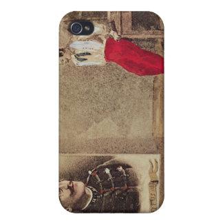 Alfred Dreyfus as a prisoner, 1894-1906 iPhone 4 Cases