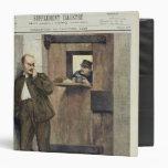 Alfred Dreyfus  in Prison 3 Ring Binders