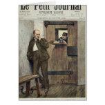 Alfred Dreyfus  in Prison Greeting Card