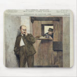 Alfred Dreyfus  in Prison Mouse Pad