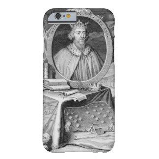 Alfred el gran (849-99) rey de Wessex, grabado Funda Para iPhone 6 Barely There
