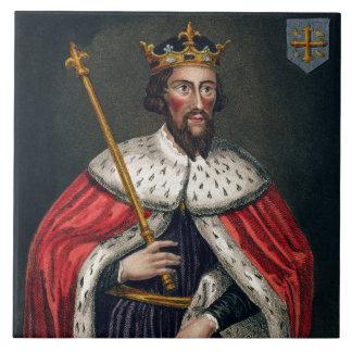 Alfred el grande 849-99 después de una pintura tejas