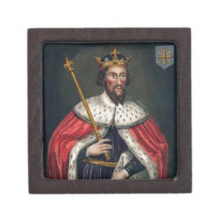 Alfred el grande 849-99 después de una pintura caja de joyas de calidad
