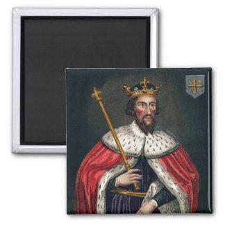 Alfred el grande 849-99 después de una pintura imán para frigorífico