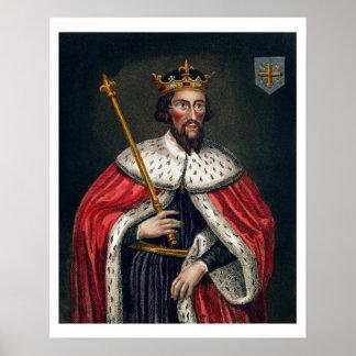 Alfred el grande 849-99 después de una pintura posters