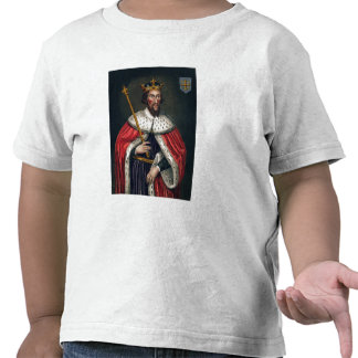 Alfred el grande 849-99 después de una pintura camiseta