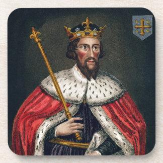 Alfred el grande 849-99 después de una pintura posavasos