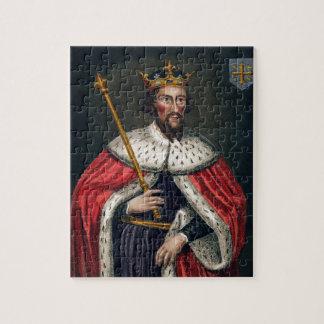 Alfred el grande 849-99 después de una pintura rompecabezas con fotos