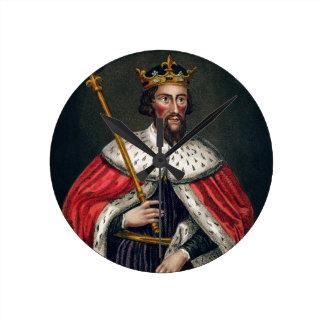 Alfred el grande 849-99 después de una pintura relojes