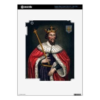 Alfred el grande 849-99 después de una pintura iPad 3 skin