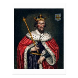 Alfred el grande 849-99 después de una pintura tarjeta postal
