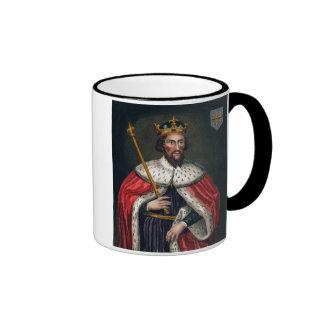 Alfred el grande 849-99 después de una pintura tazas de café