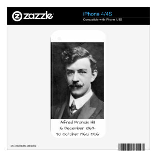 Alfred Francis Hill 1906 Decal For The iPhone 4S