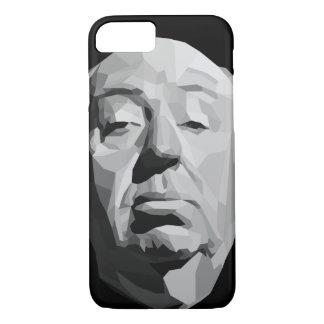 Alfred Hitchcock geométrico Funda iPhone 7