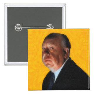 Alfred Hitchcock Pinback Button