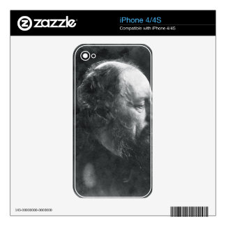Alfred, Lord Tennyson (1809-92) c.1868 (albumen pr Decal For The iPhone 4S