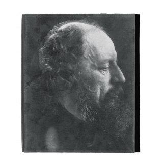 Alfred, Lord Tennyson (1809-92) c.1868 (albumen pr iPad Folio Case