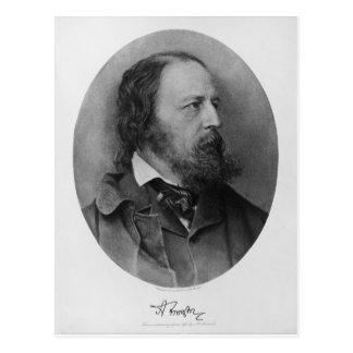 Alfred Lord Tennyson Portrait 1905 Post Card