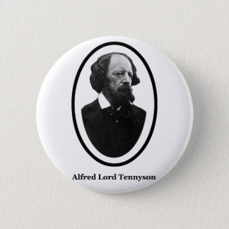 Alfred Lord Tennyson Title The MUSEUM Zazzle Gifts Button