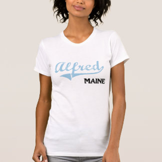 Alfred Maine City Classic Tshirt