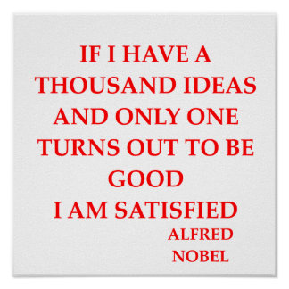 alfred Nobel Impresiones