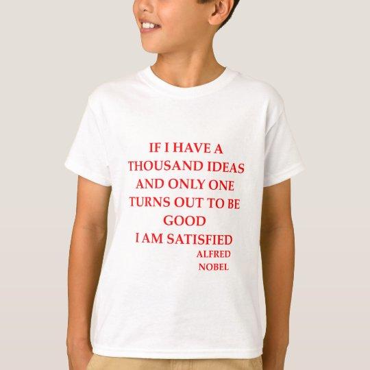 alfred nobel T-Shirt