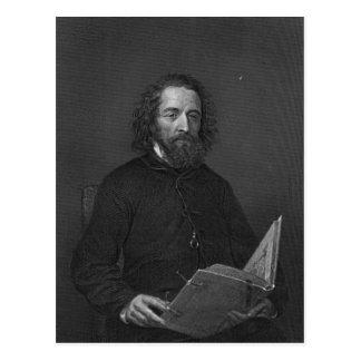 Alfred, señor Tennyson Tarjeta Postal