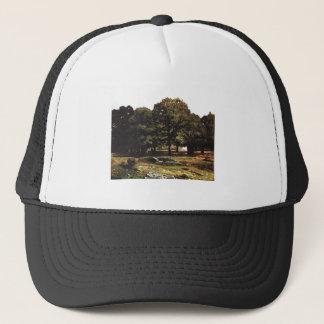 Alfred Sisley 1865 La Celle-Saint-Cloud Kastaniena Trucker Hat