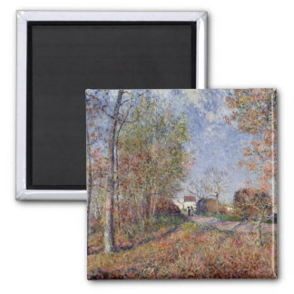 Alfred Sisley | A Corner of the Woods at Sablons Magnet