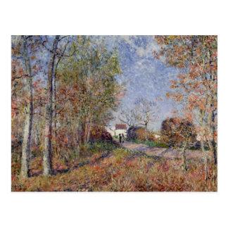 Alfred Sisley   A Corner of the Woods at Sablons Postcard