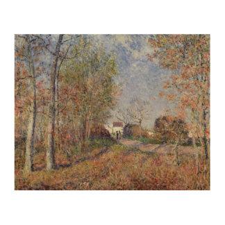 Alfred Sisley | A Corner of the Woods at Sablons Wood Print