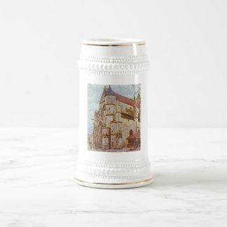 Alfred Sisley - aceite de Kirche von Moret 1893 - Jarra De Cerveza