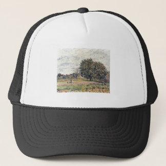 Alfred Sisley - Anfang Oktober 1882 Oil Print Trucker Hat