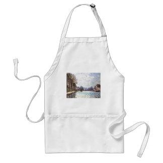 Alfred Sisley - Ansicht Kanals Saint-Martin 1870 Adult Apron