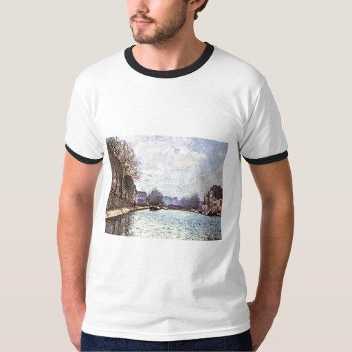 Alfred Sisley - Ansicht Kanals San Martín 1870 Camisas