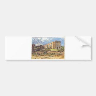 Alfred Sisley - Aquädukt von Marly 1874 Oil Print Bumper Sticker
