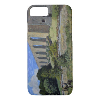 Alfred Sisley - Aqueduct at Marly iPhone 8/7 Case