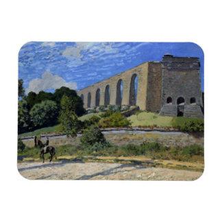 Alfred Sisley - Aqueduct at Marly Magnet