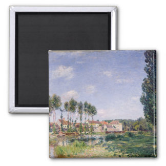 Alfred Sisley | Banks of the Loing at Moret Magnet