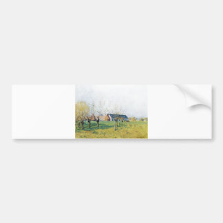 Alfred Sisley Bauernhof zum Höllenkaff  1874 Bumper Sticker