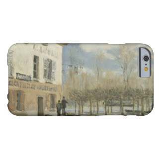 Alfred Sisley - Boat in the Flood at Port Marly Barely There iPhone 6 Case