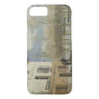 Alfred Sisley - Boat in the Flood at Port Marly iPhone 8/7 Case